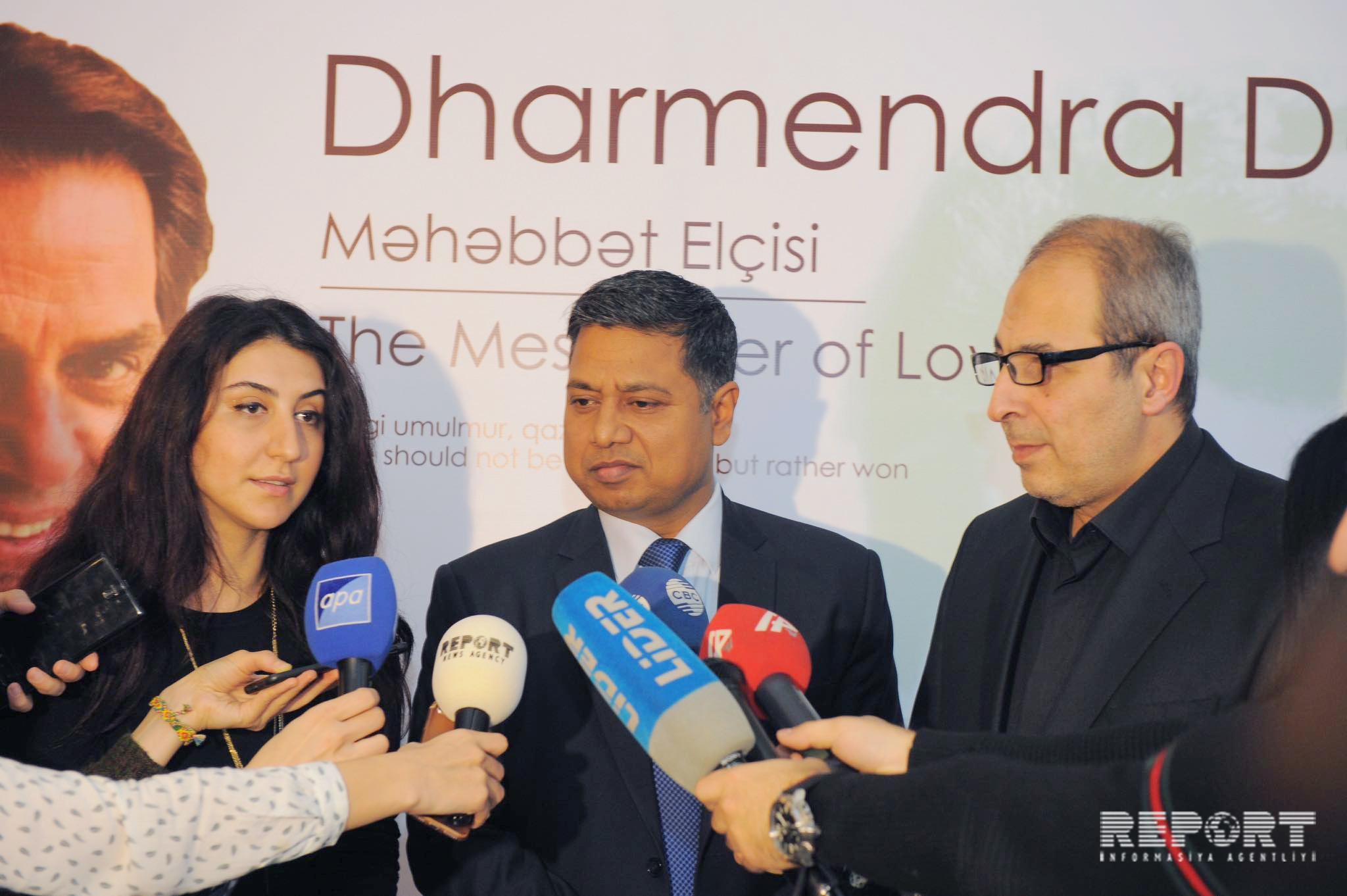 Ambassador: We plan to hold Indian films festival in Baku soon