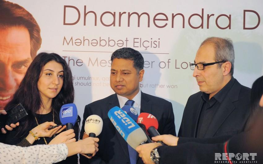 Посол: В течение предстоящих 2-3 месяцев в Баку плнанируется проведение Фестиваля индийских фильмов
