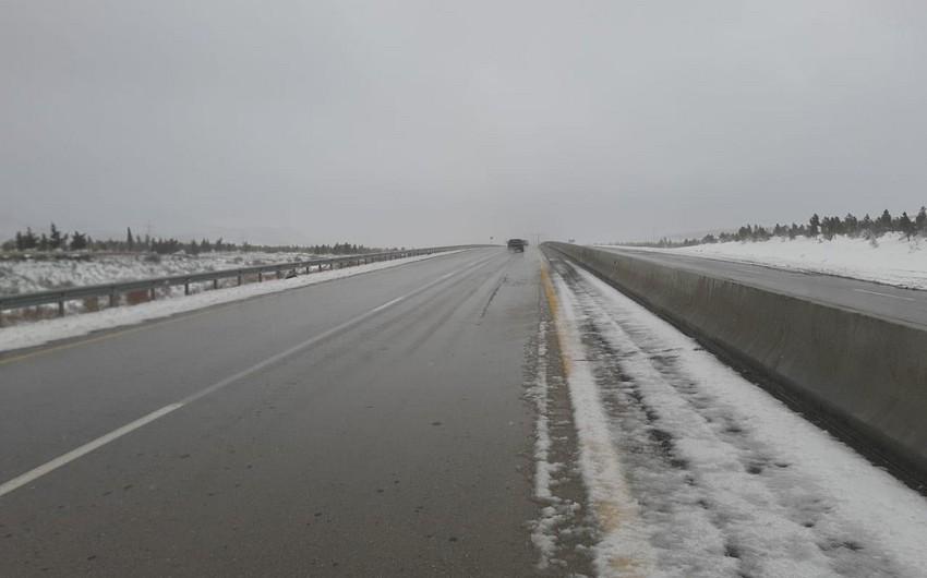 Названа последняя ситуация на дороге Баку-Шамахы