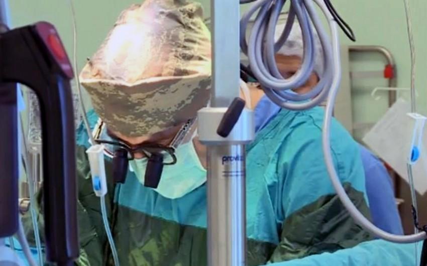 Silahlı Qüvvələrin Baş Klinik Hospitalında iki uğurlu cərrahi əməliyyat həyata keçirilib