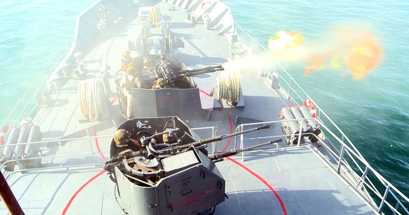 Azerbaijan Naval Forces tactical exercises end – VIDEO