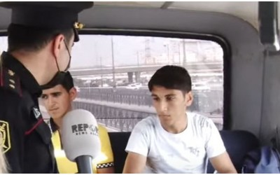 Полиция провела рейд, оштрафованы водитель автобуса и пассажиры - ВИДЕО