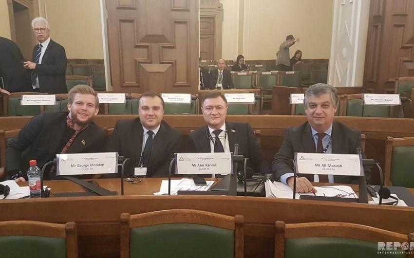 Azərbaycanlı deputatlar Baltik Assambleyasının sessiyasında iştirak edir
