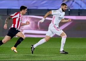 Real Madrid İspaniya Superkubokunun yarımfinalında Atletikə uduzdu