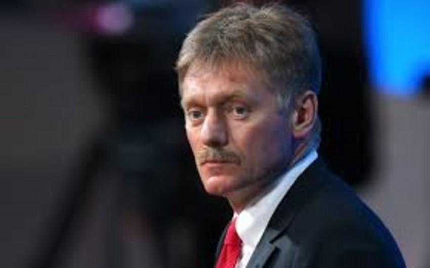 Peskov: Rusiya Dağlıq Qarabağ münaqişəsinin həlli üçün çalışır