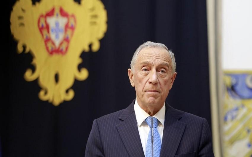 Portuqaliyanın dövlət başçısı Prezident İlham Əliyevi təbrik etdi