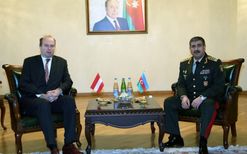 Azerbaijan and Austria discussed prospects of cooperation in military sphere