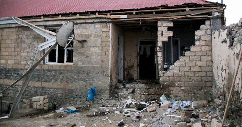Похоронены члены семьи, погибшие в результате обстрела Армении