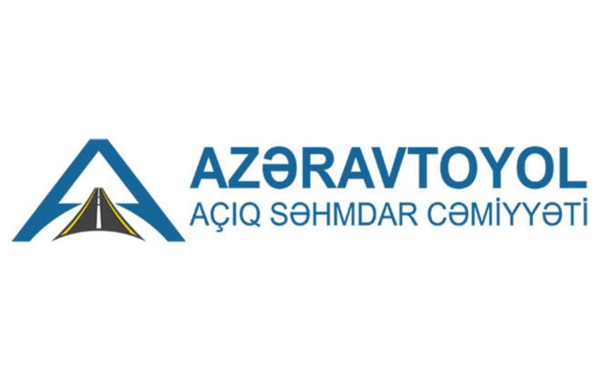 """""""Azəravtoyol"""" 10 lotlu açıq tender elan edib"""