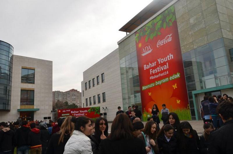 ADA Universitetində III Bahar Gənclik Festivalı keçirilib