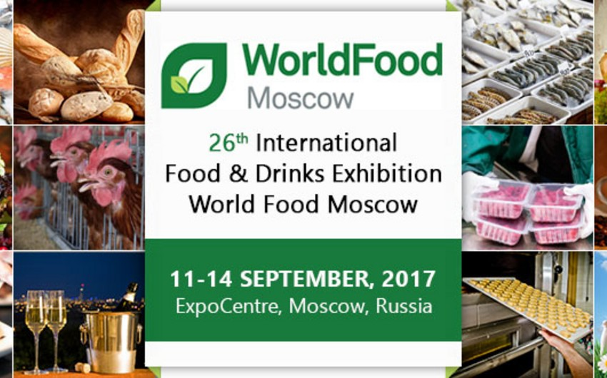 Worldfood Moscow Int'l Food Exhibition to feature Azerbaijani brand products