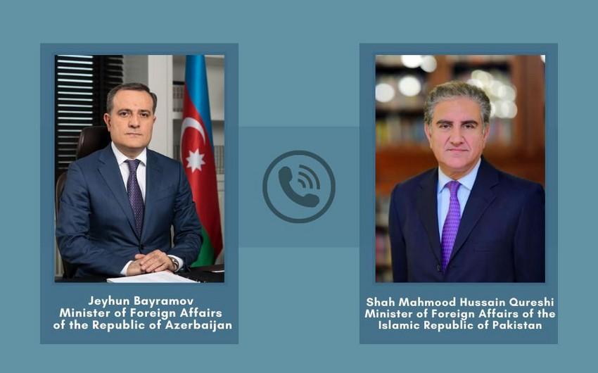 Azərbaycan və Pakistan XİN başçıları arasında -