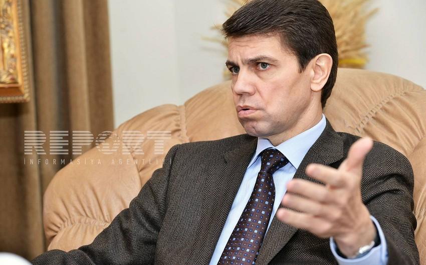 Ukrayna səfiri erməni soyqırımı haqqında qanun layihəsinin Ali Radaya çıxarılması məsələsini şərh edib