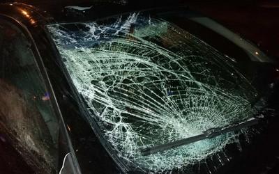 В Товузе столкнулись два автомобиля, есть пострадавший