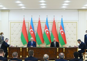 Azerbaijan, Belarus sign bilateral documents