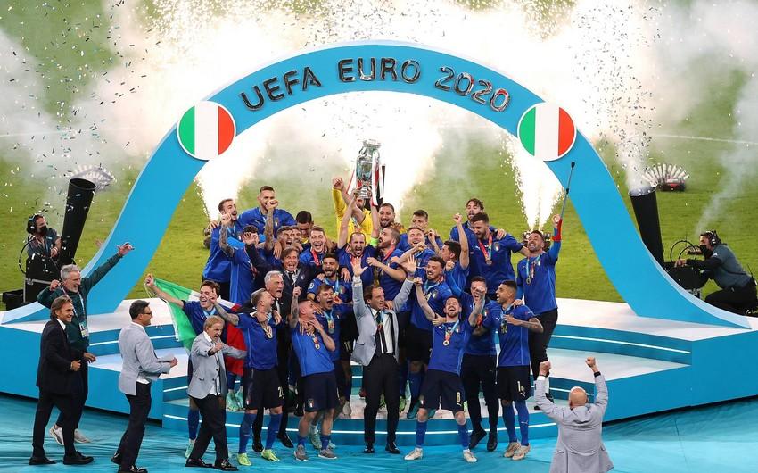 Сборная Италии стала двукратным чемпионом Европы - ОБНОВЛЕНО - 2