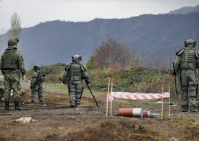 Russian peacekeepers find about 25,000 explosives