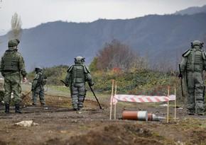 Российские миротворцы обнаружили около 25 тысяч взрывоопасных предметов