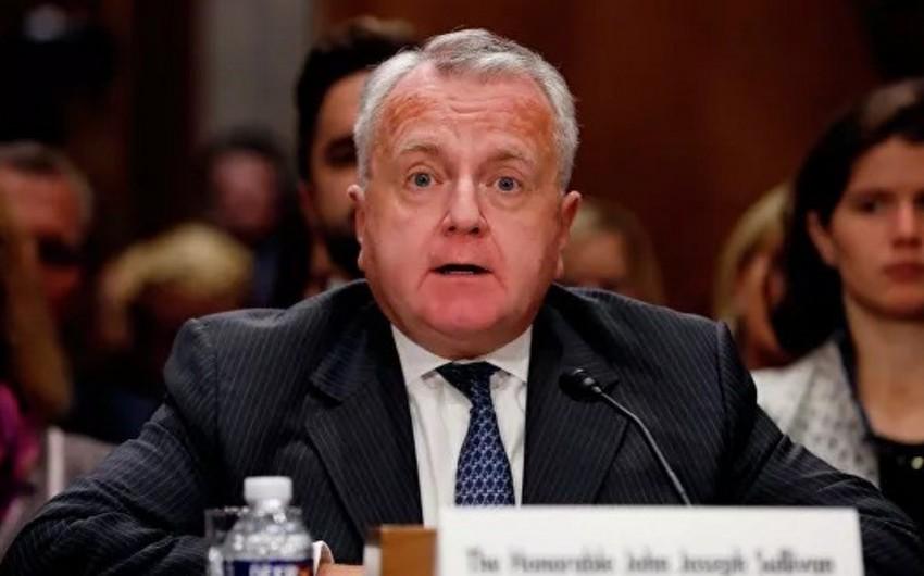 Сегодня Салливан приступает к исполнению обязанностей посла США в России