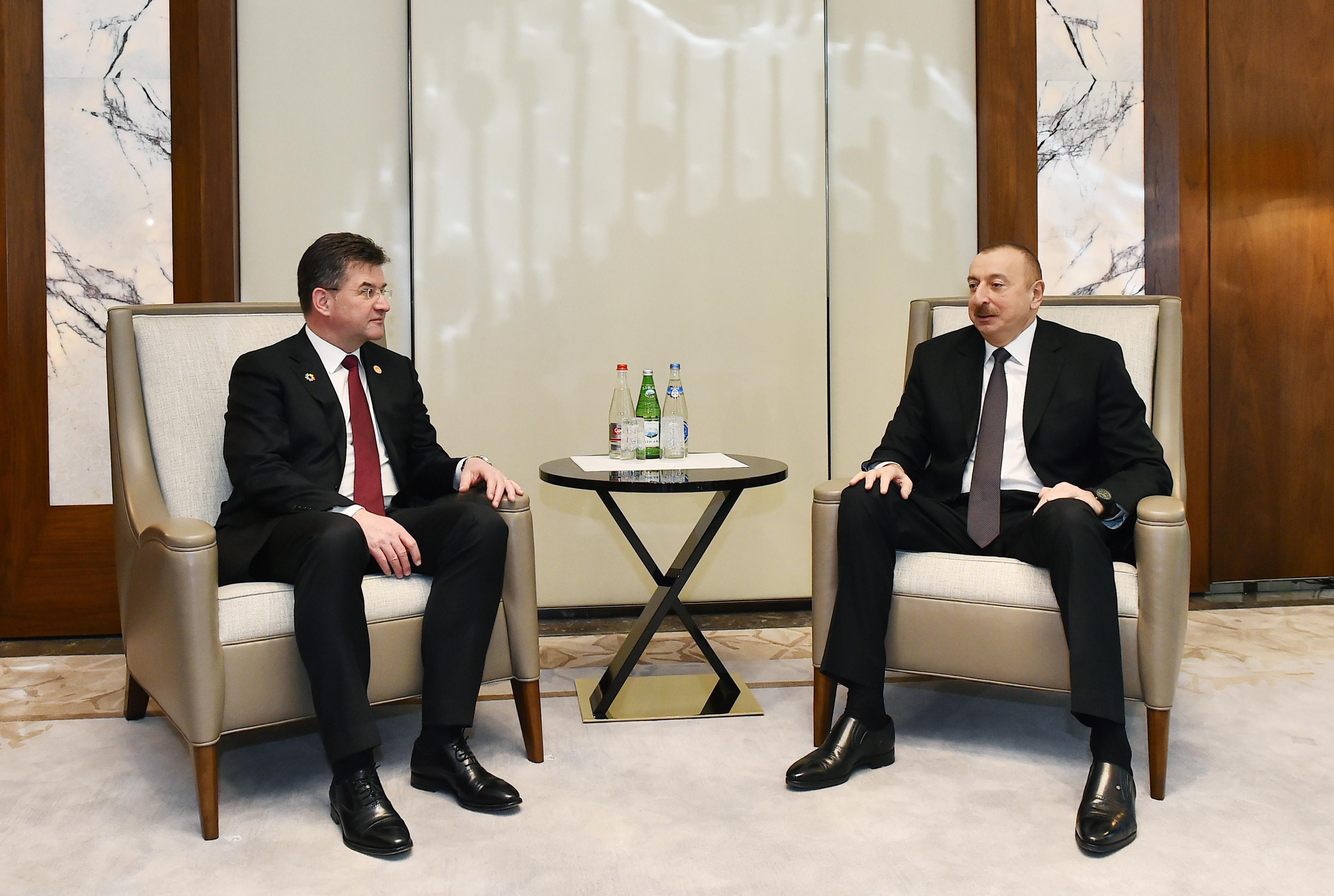 Президент Ильхам Алиев встретился с председателем Генассамблеи ООН