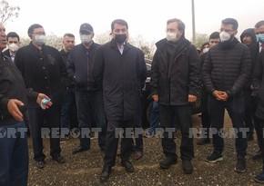 """Fahrettin Altun Ağdamdan UNESCO-ya səsləndi: """"Ermənilərin iç üzlərini artıq görün"""""""