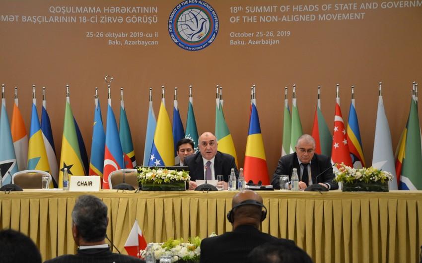 Глава МИД: Оккупация азербайджанских земель Арменией - угроза для региональной безопасности