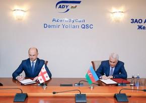Azərbaycan və Gürcüstan dəmir yolu ilə yükdaşıma üzrə əməkdaşlığa başlayır