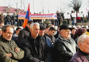 В Ереване проходит акция в поддержку Роберта Кочаряна
