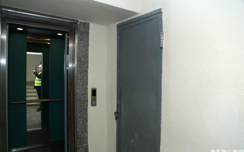 Bakıda binalara yeni liftlərin quraşdırılmasına başlanılıb