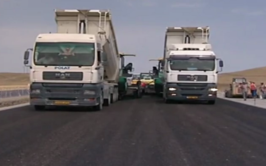 Bakı-Şamaxı-Yevlax avtomobil yolunda alt keçidləri inşa olunur