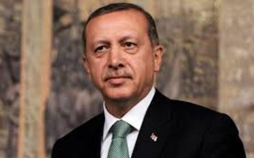 Türkiyə Prezidenti Rəcəb Tayyib Ərdoğan Prezident İlham Əliyevə başsağlığı verib