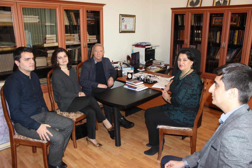 Azərbaycan və Gürcüstanın Şərqşünaslıq institutları arasında əməkdaşlıq müzakirə edilib