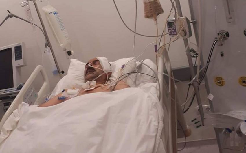 Октай Гюльалыев переведен в Американский госпиталь в Стамбуле