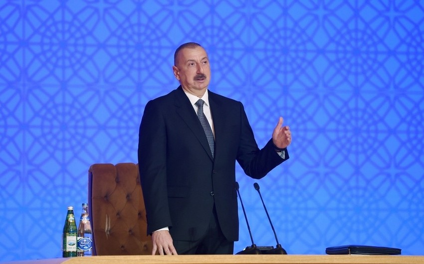 Президент: Сегодня газификация обеспечена в Азербайджане повсеместно