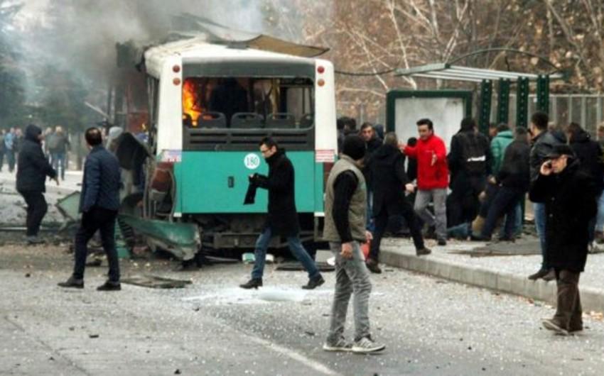 Türkiyə DİN: Kayseridəki terror aktı ilə əlaqədar 7 nəfər saxlanılıb