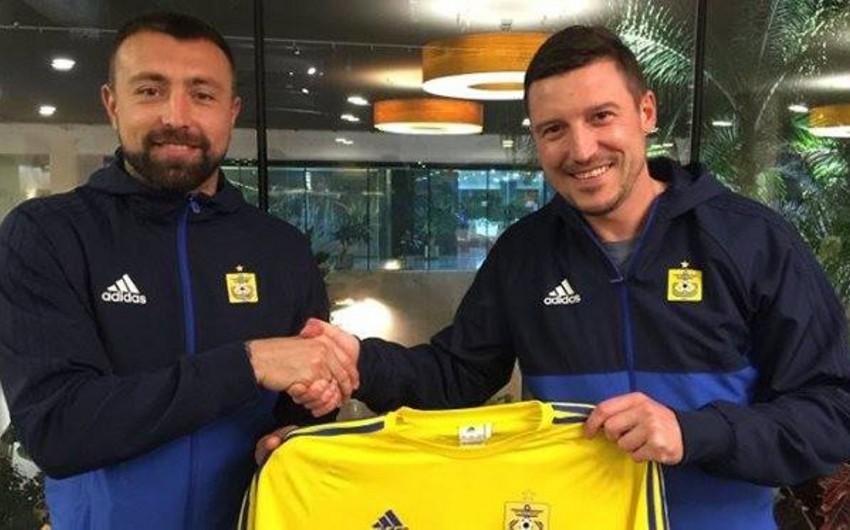 Определился новый клуб бывшего футболиста Габалы Олексия Антонова