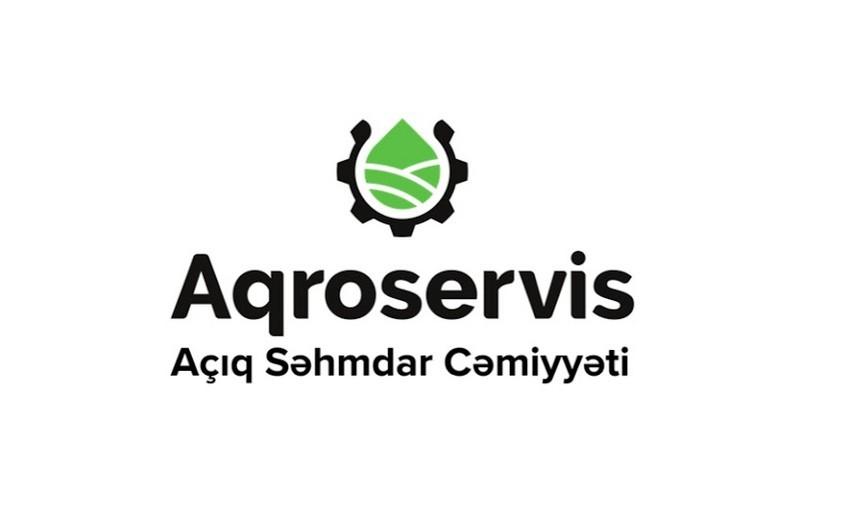 """""""Aqroservis"""" açıqlama yayıb"""
