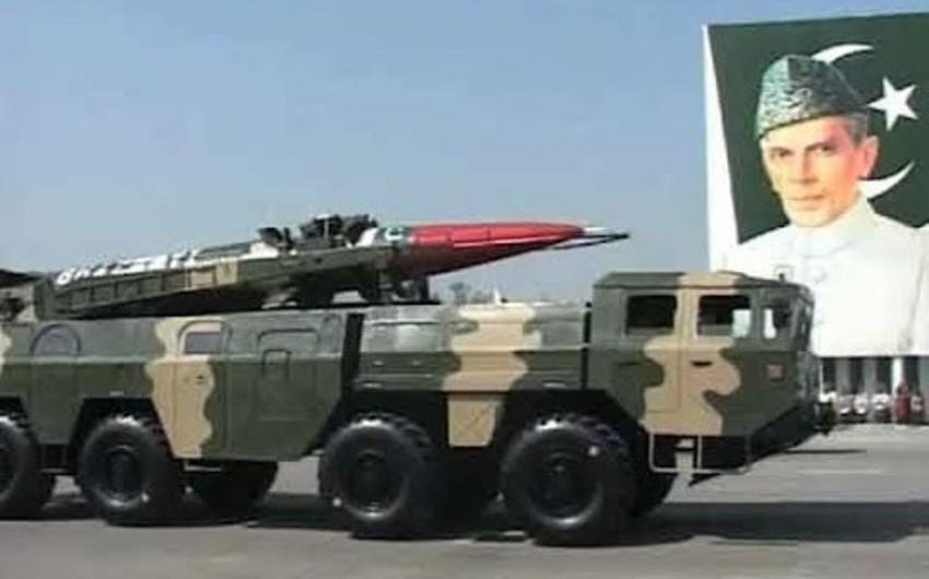 Pakistanda nüvə başlıqlı ballistik raketin sınağı keçirilib