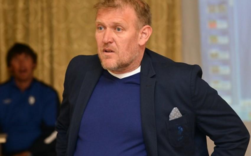 Robert Prosineçki: Milliyə gənc futbolçuları da dəvət etmişəm