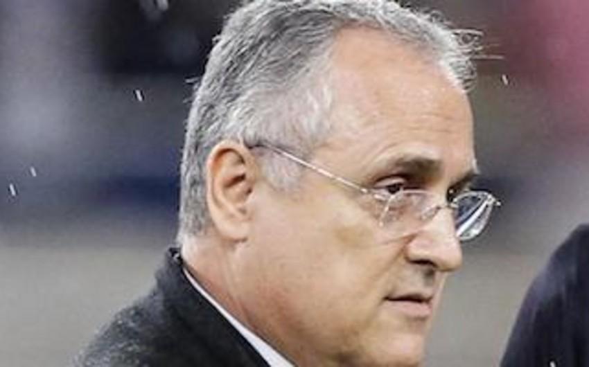 İtaliyada klub prezidentinə qarşı araşdırma başlandı