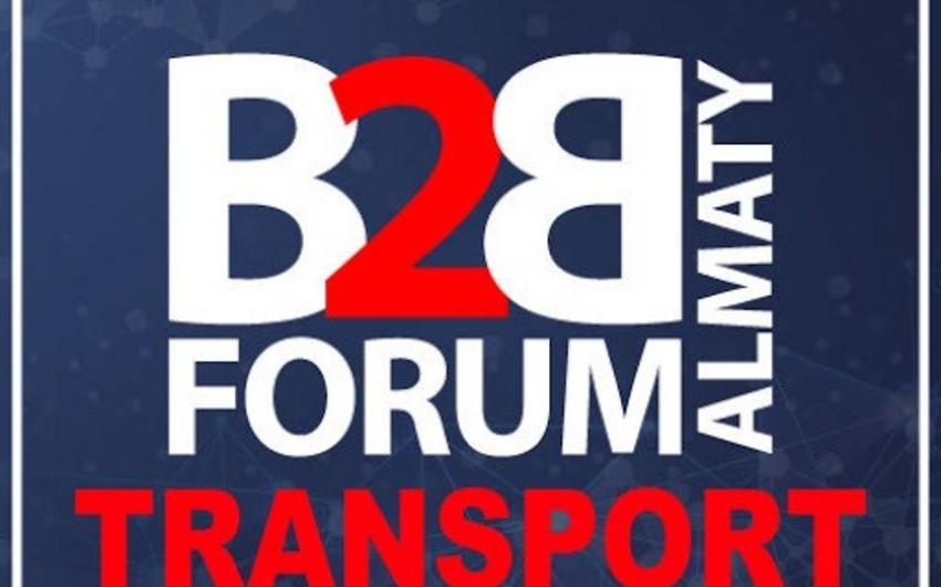 """Bakıda """"Transport B2B Forum"""" keçirilib"""