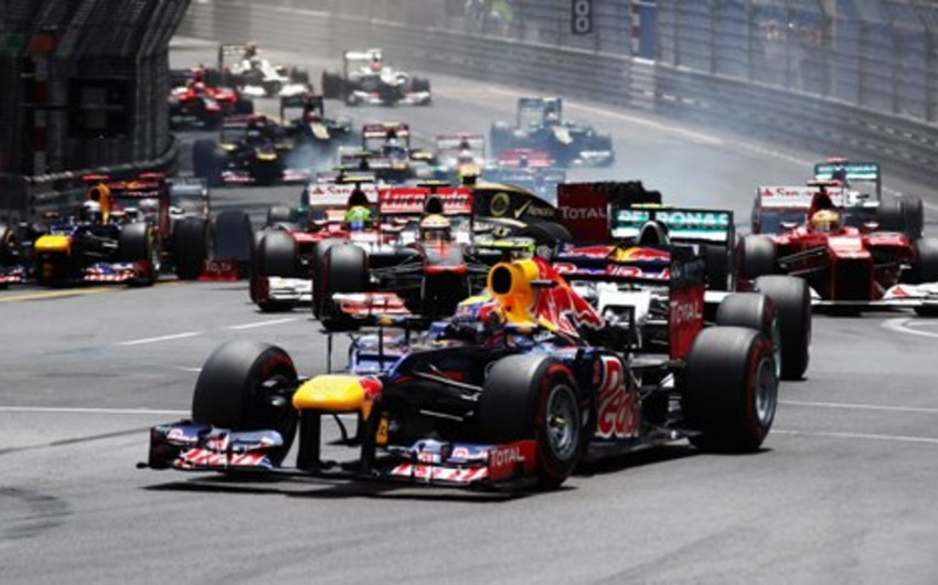 Formula 1 üzrə Bakı Qran Prisinin başlama vaxtı dəyişdirilib