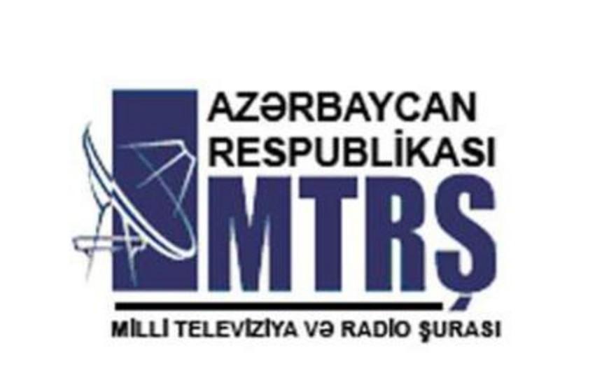 Milli Televiziya və Radio Şurasına sədr seçilib
