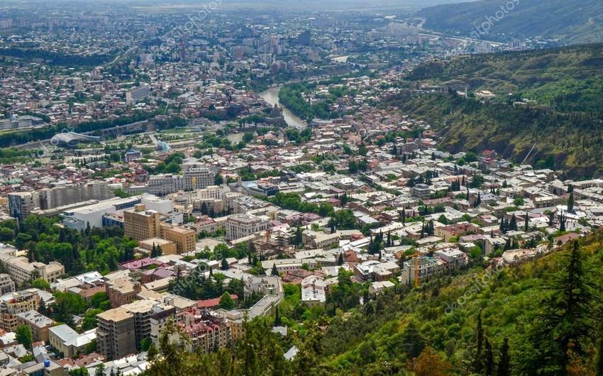 Güclü yağış Gürcüstanın üç rayonunda problemlər yaradıb