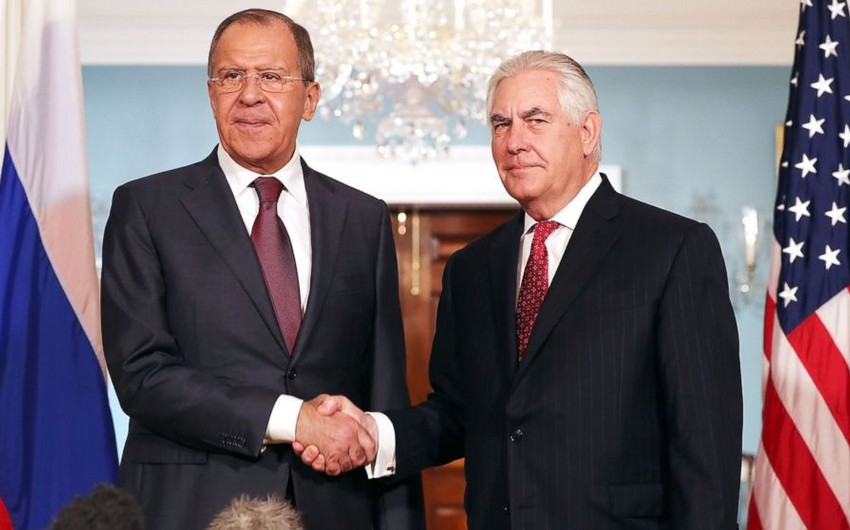 Lavrov and Tillerson discuss situation in Syria by phone
