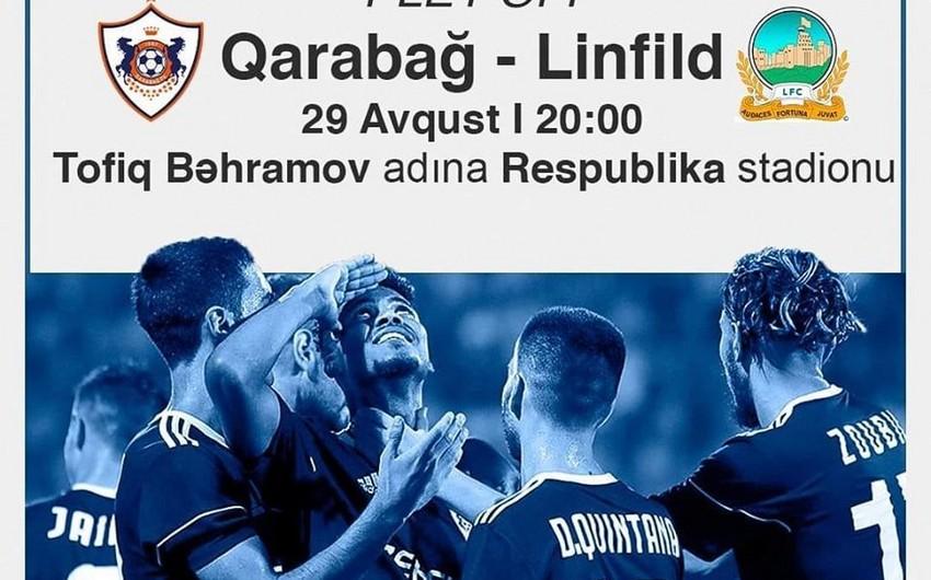 Qarabağ - Linfild oyununa 13 min bilet satılıb