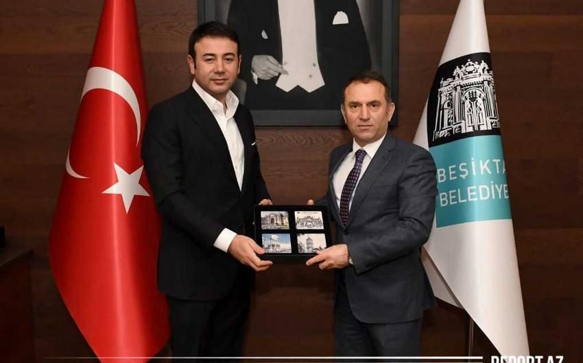 Azərbaycanın İstanbuldakı baş konsulu bələdiyyə sədri ilə görüşdü