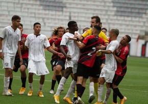 Braziliyada futbolçular arasında kütləvi dava düşdü