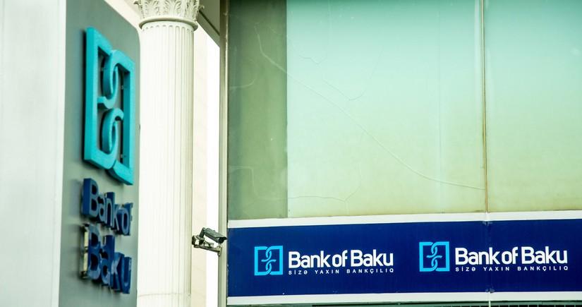 """""""Bank of Baku""""nun xalis mənfəəti kəskin artıb"""
