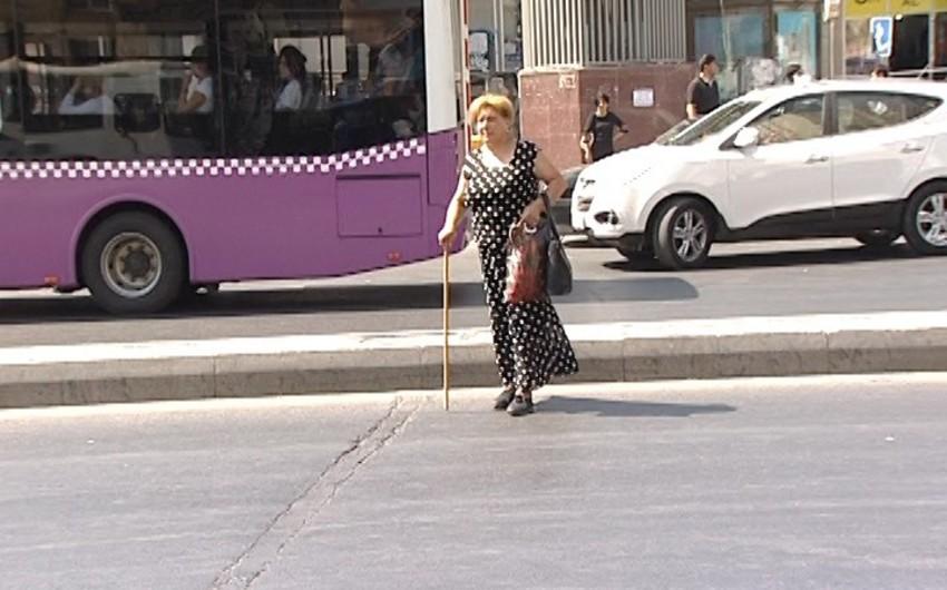 DYP Bakıda avtobus dayanacaqlarını zəbt edən sürücülərə xəbərdarlıq edib